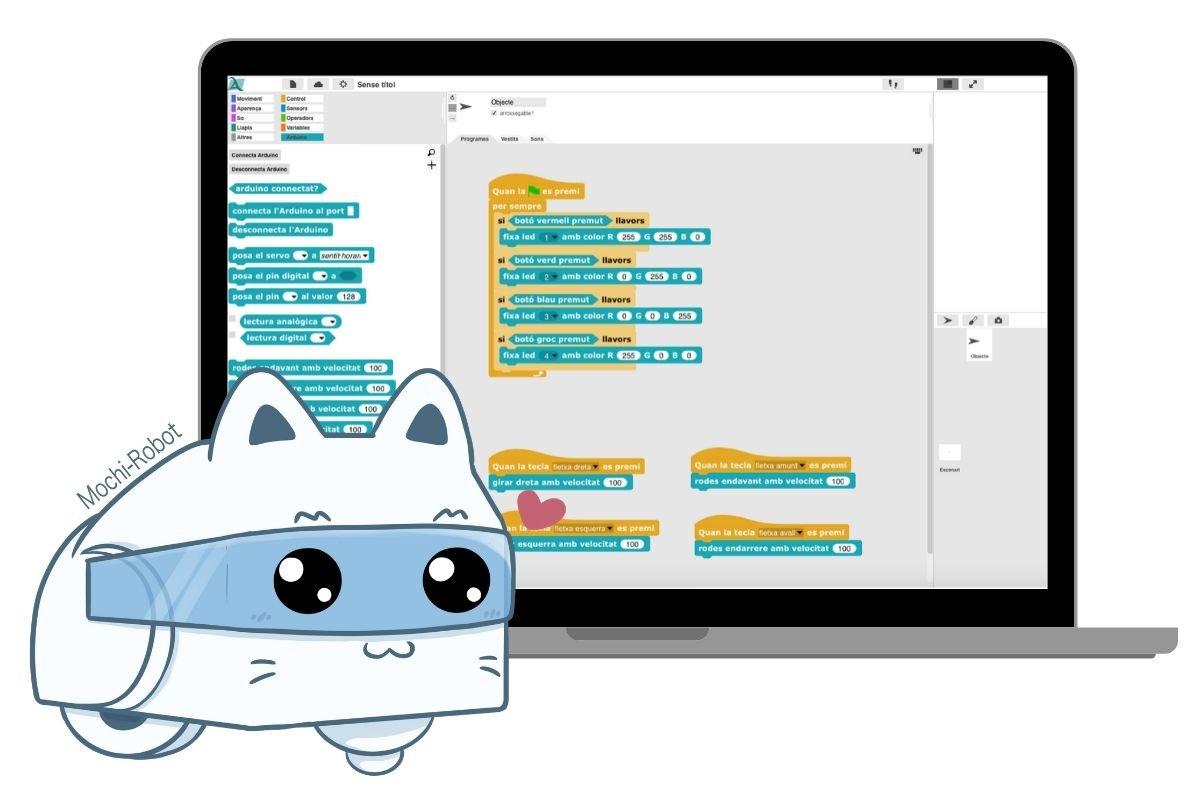 Entorno programacion Mochi Robot STEM
