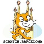Logo Scratch Barcelona Mochi Robot